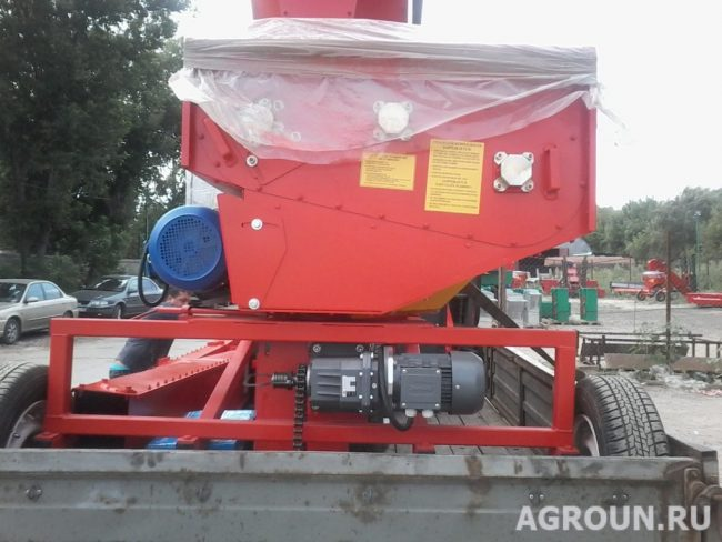 Зернометатель А-150М
